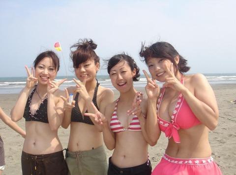 ビキニギャルの夏の思い出写真wwww★素人水着エロ画像・47枚目の画像