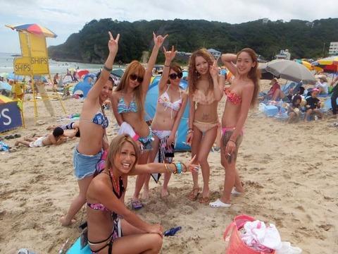 ビキニギャルの夏の思い出写真wwww★素人水着エロ画像・16枚目の画像