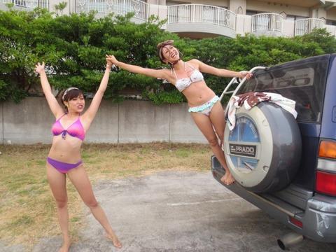 ビキニギャルの夏の思い出写真wwww★素人水着エロ画像・9枚目の画像