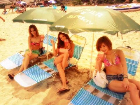 ビキニギャルの夏の思い出写真wwww★素人水着エロ画像・24枚目の画像