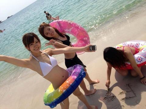 ビキニギャルの夏の思い出写真wwww★素人水着エロ画像・29枚目の画像