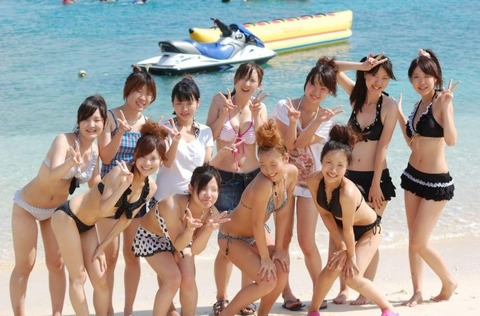 ビキニギャルの夏の思い出写真wwww★素人水着エロ画像・43枚目の画像