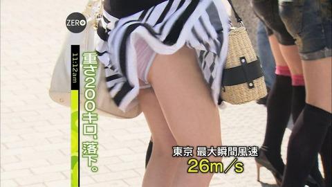 神風でスカートの中が丸見えwwwww★素人パンチラエロ画像・44枚目の画像