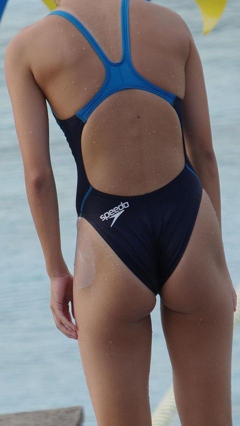 競泳水着姿の皆さん!乳首からマン筋までくっきり映っちゃってますがwwwww★競泳水着エロ画像・34枚目の画像