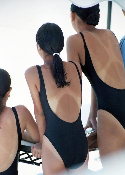 競泳水着姿の皆さん!乳首からマン筋までくっきり映っちゃってますがwwwww★競泳水着エロ画像・13枚目の画像