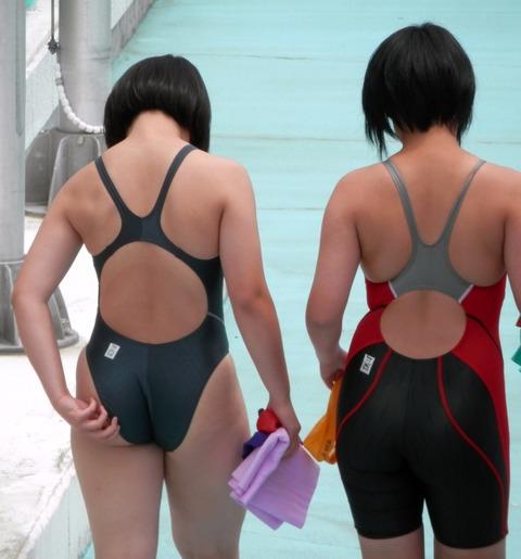 競泳水着姿の皆さん!乳首からマン筋までくっきり映っちゃってますがwwwww★競泳水着エロ画像・10枚目の画像