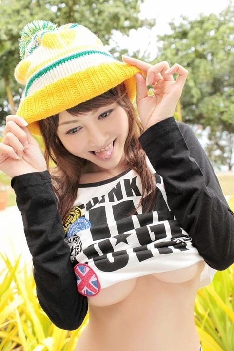 【新春】Gカップの驚異!!過激すぎる杉原杏璃のグラビア画像wwこれガチでエロい・1枚目の画像