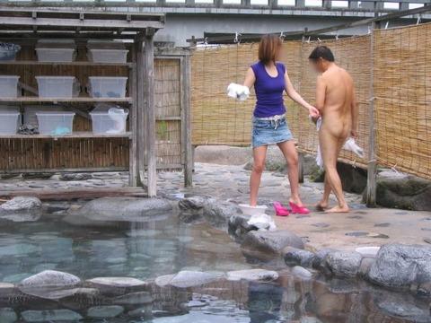 混浴・女風呂・露天風呂ですっぽんぽんになってる女の子のエロ画像★|2014年プレイバック記事・6枚目の画像