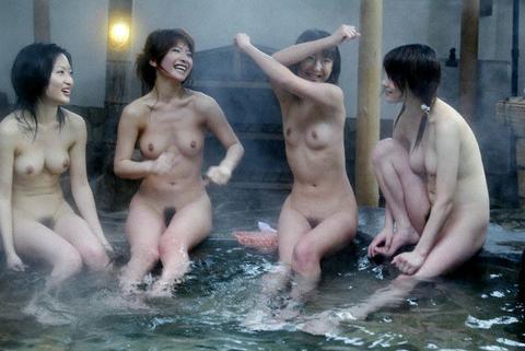 混浴・女風呂・露天風呂ですっぽんぽんになってる女の子のエロ画像★|2014年プレイバック記事・24枚目の画像