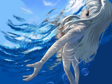 【2次元】相棒祭りも見たことだし…2次元の水遊びしてる女の子のエロ画像貼るね!・28枚目の画像