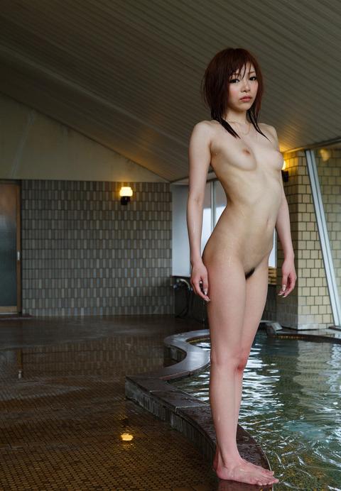 MIYABIとかいうスレンダーなAV女優のお風呂★MIYABIエロ画像・41枚目の画像