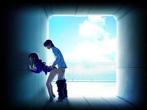 青空の下でエロい格好してる奴らwwwww★2次元真夏エロ画像・24枚目の画像