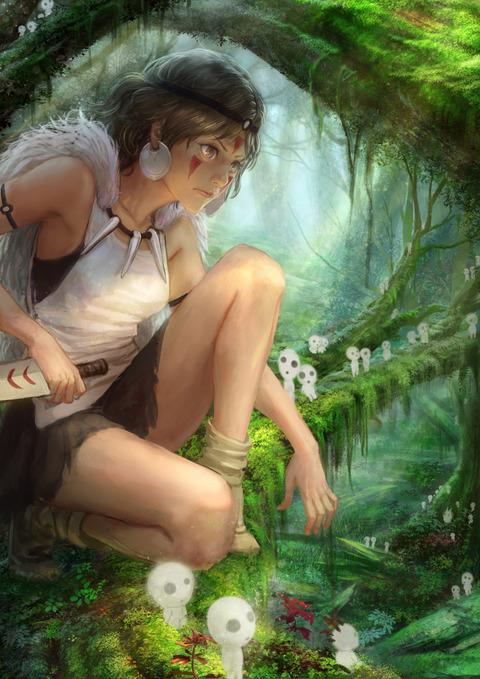 ジブリアニメの登場人物が脱いだ結果wwwww★2次元ジブリエロ画像・20枚目の画像