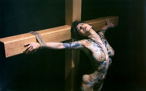 杉本姉さんが映画で魅せたハードなまんぐり返しやSMの画像まとめ★杉本彩エロ画像・6枚目の画像