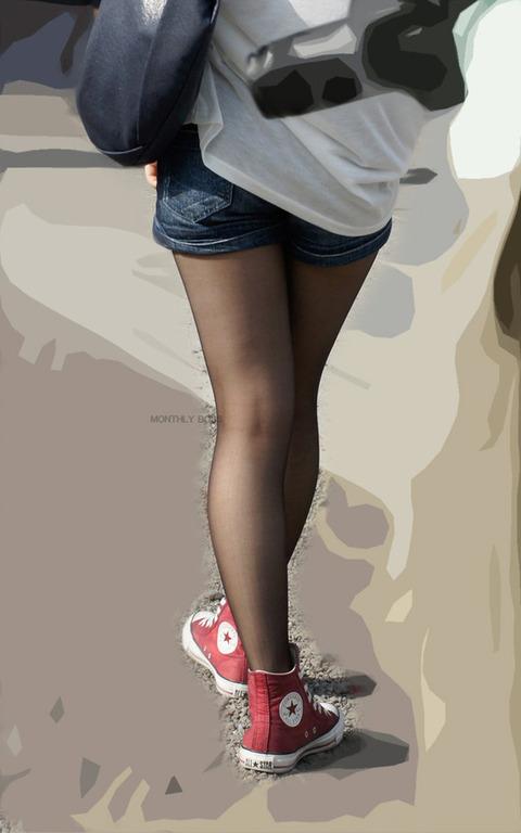 素人の黒ストにまじムラムラするわwwwww★素人黒ストエロ画像・16枚目の画像