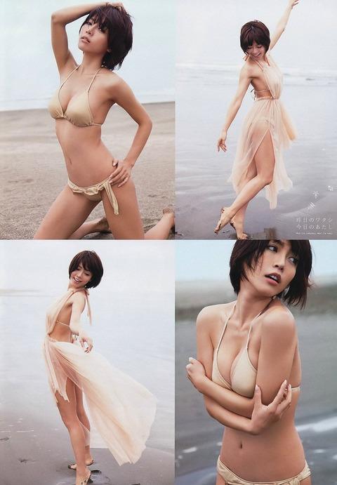 釈由美子が36歳のくせにビキニ姿がエロすぎるwwwwww★釈由美子エロ画像・10枚目の画像