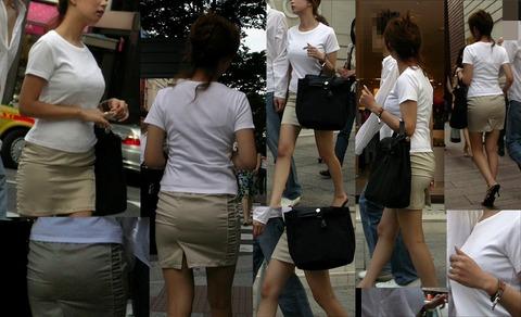 下町散歩のときに発見したロケットおっぱいを盗撮wwwwww★素人街撮りエロ画像・19枚目の画像