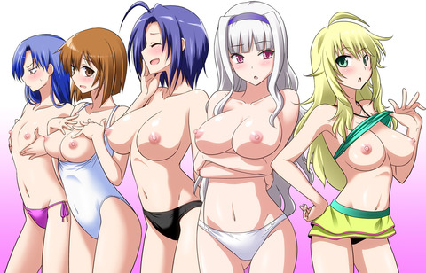 【2次元】裸の女の子がたくさんいるよww ハーレムな2次元エロ画像・31枚目の画像