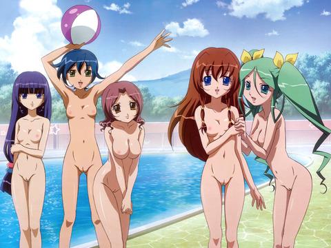 【2次元】裸の女の子がたくさんいるよww ハーレムな2次元エロ画像・46枚目の画像