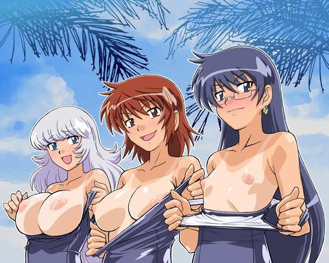 【2次元】裸の女の子がたくさんいるよww ハーレムな2次元エロ画像・28枚目の画像