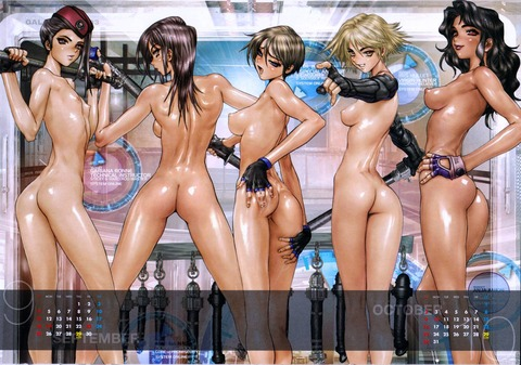 【2次元】裸の女の子がたくさんいるよww ハーレムな2次元エロ画像・5枚目の画像