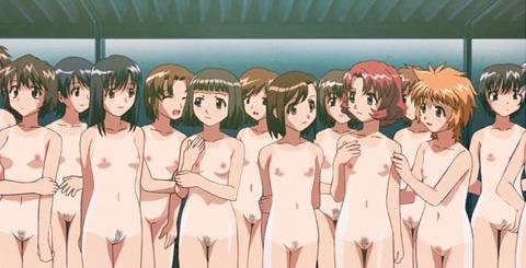 【2次元】裸の女の子がたくさんいるよww ハーレムな2次元エロ画像・42枚目の画像