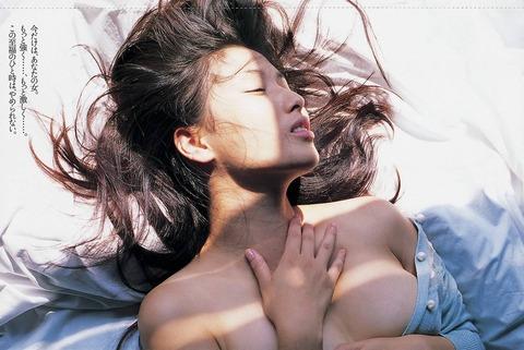 橋本マナミの日が照るヌードアヘ顔