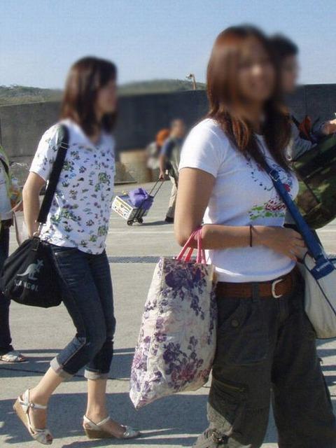 真夏のパイスラまじヤバすwwwwwww★素人街撮りエロ画像・9枚目の画像