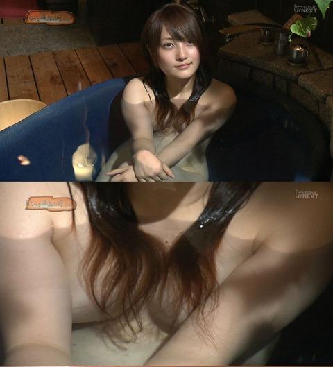 テレビで放送された芸能人やアイドルが極限まで露出した入浴シーンをまとめてみたwwwwww★入浴エロ画像・30枚目の画像