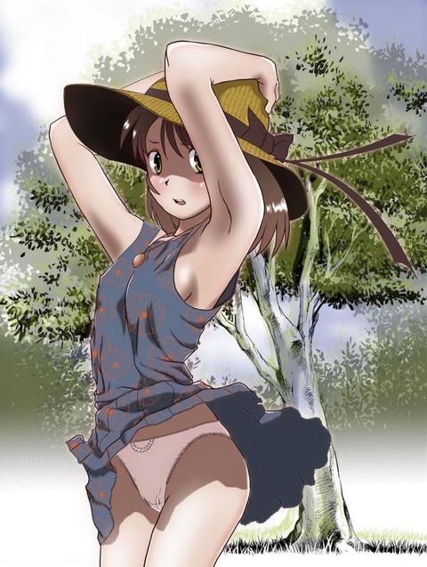 【2次元】夏だから麦わら帽子とか良いんじゃないかと思って集めた画像wwwwwww★2次元麦わら帽子エロ画像・6枚目の画像