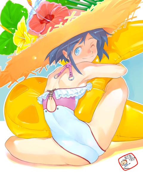 【2次元】夏だから麦わら帽子とか良いんじゃないかと思って集めた画像wwwwwww★2次元麦わら帽子エロ画像・27枚目の画像