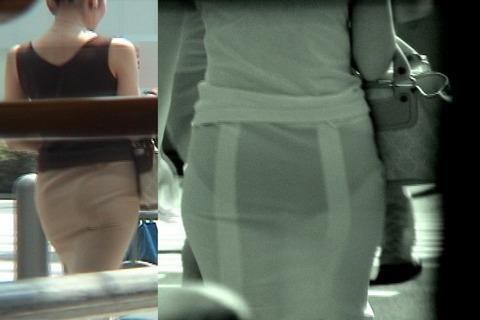 赤外線カメラ盗撮でパンツもブラも丸見え過ぎるエロ画像32枚・11枚目の画像
