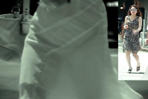 赤外線カメラ盗撮でパンツもブラも丸見え過ぎるエロ画像32枚・6枚目の画像