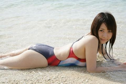 競泳水着コスでローションプレイしたくなるエロ画像31枚・27枚目の画像