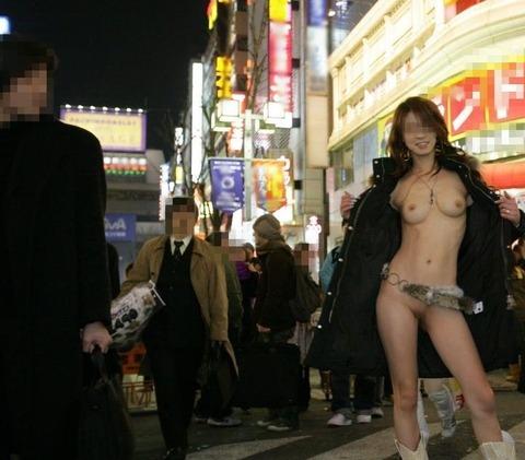 街に溶け込みながら露出を繰り返すベテラン露出狂の素人さんwwwwwwww(画像あり)・3枚目の画像