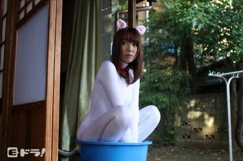「ビッチ猫飼ってます。」「えっ?どういうこと?」見に行った結果wwwwwwwww(AV女優波多野結衣エロ画像)・3枚目の画像