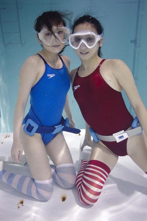 【エロノーベル賞】競泳水着・スク水を考えた人は神だと思うんだがwwwwwwwww(エロ画像あり)・30枚目の画像