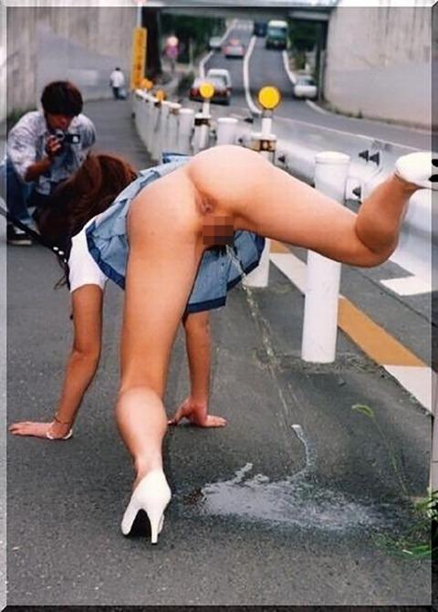 【驚愕】ドM女を調教しすぎた結果・・・野外放尿までする変態雌豚になってしまったンゴwwwwwwww(画像あり)・12枚目の画像