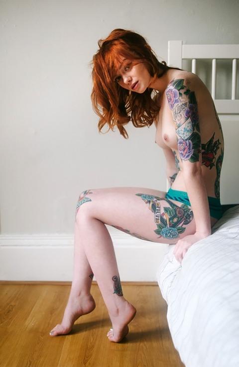 風俗で出てきたら地雷確定タトゥー有り嬢のエロ画像32枚・17枚目の画像