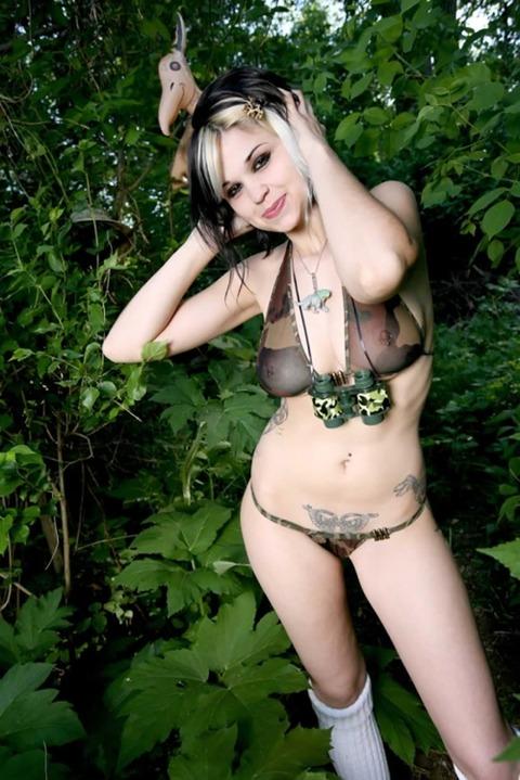 風俗で出てきたら地雷確定タトゥー有り嬢のエロ画像32枚・40枚目の画像