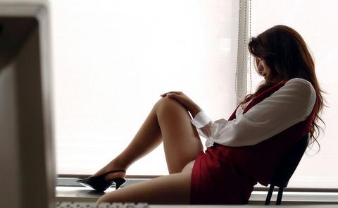 【個人撮影】毎日残業して性欲発散するOLさんがいるらしいwwwwwハメ撮りエロ画像★・4枚目の画像