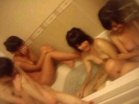 【エロ画像】HOTEL女子会なうのインスタ流出えろ画像43枚